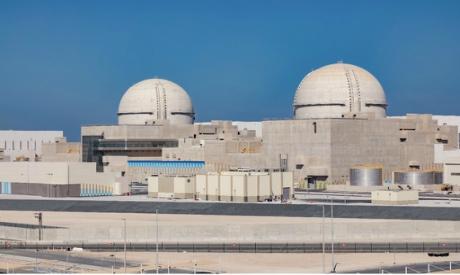 Barakah Nuclear Power Plant in UAE