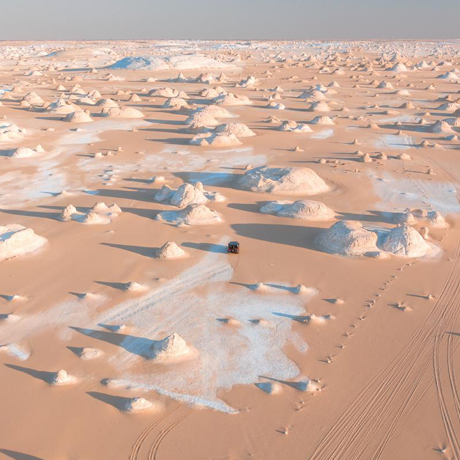 white desert ( Photo: Ahmed Wahba)