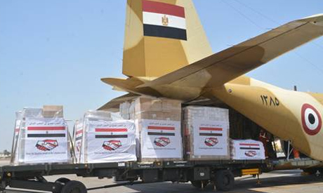 Egyptian aid to Lebanon