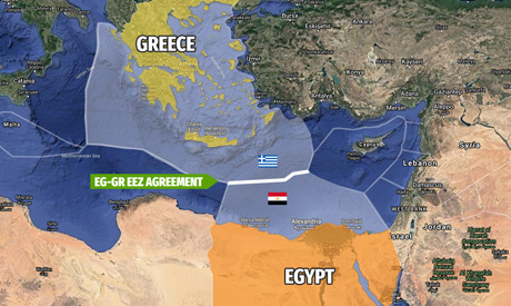 Exclusive Economic Zone Agreement between Greece and Egypt