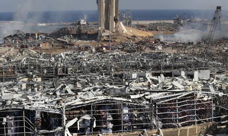 Beirut aftershocks