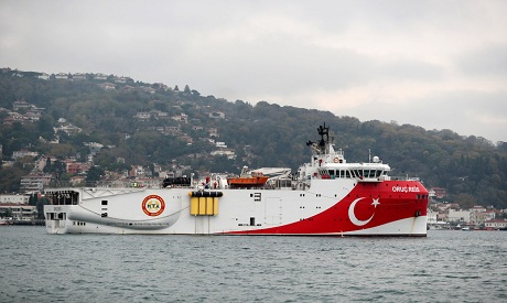 Turkish vessel Oruc Reis