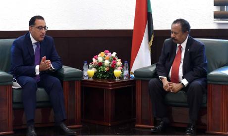 Egyptian, Sudanese PMs