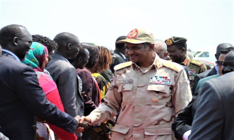 General Mohamed Hamdan Daglo, Vice-President of the Sudanese Sovereign Council in Juba
