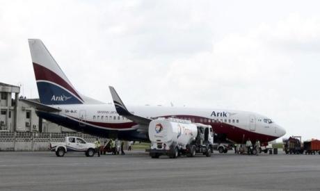 Boeing 737-7BD Arik Air aeroplane