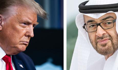 Trump and Bin Zayed