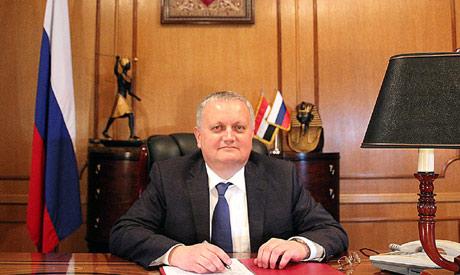 Russian Ambassador in Cairo Georgiy Borisenko