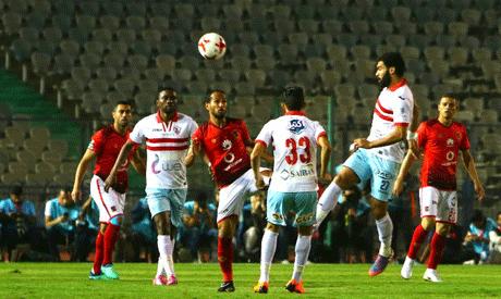 Ahly and Zamalek (Al-Ahram)