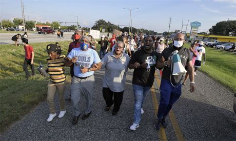 Protest erupts over fatal police shooting of Black man in Louisiana