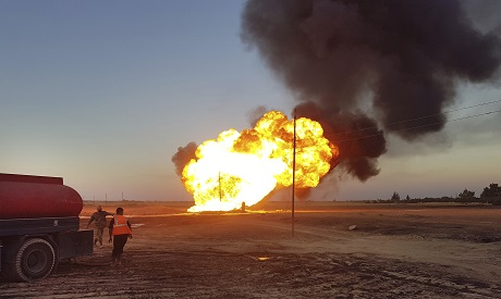 Pipeline Explosion in Syria
