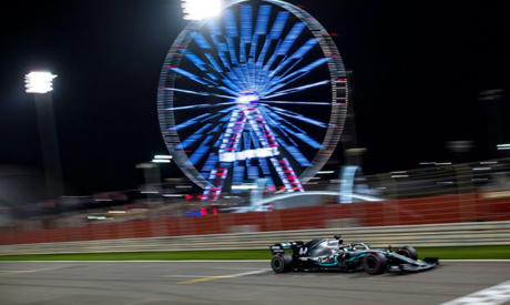 Formula One has added two races in Bahrain where Lewis Hamilton won last year
