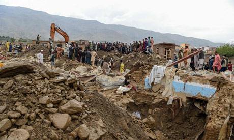 Flash floods leaves 25 dead,several injured in Afghanistan