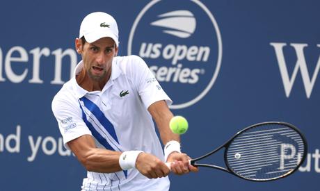 Novak Djokovic of Serbia. AFP
