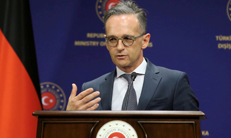 German Foreign Minister Heiko Maas attends a press conference in Ankara, Turkey, August 25, 2020.  R