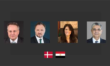 Egypt and Denmark