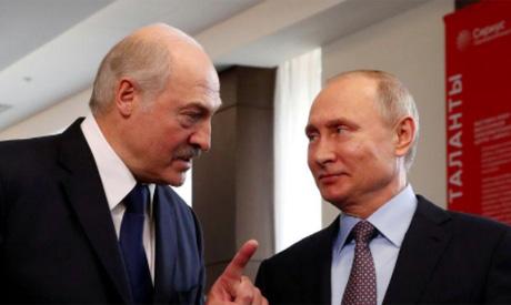 Lukashenko, Putin