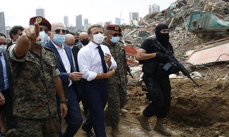 Macron in Lebanon