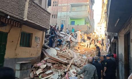 Mahalla collapsed building