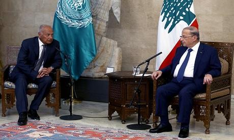 Head of Arab League in Lebanon