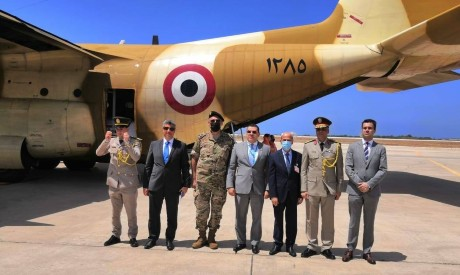 Egypt sends second batch of aid to Lebanon
