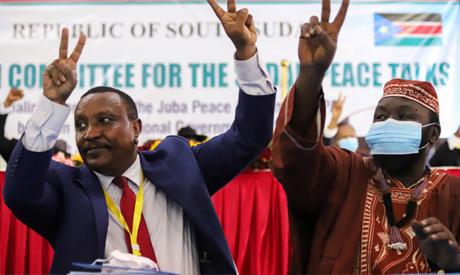 Yasir Arman, the deputy head of the Sudan People