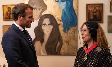 France president Macron visit to Lebanon