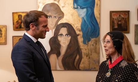 Macron and Fairouz