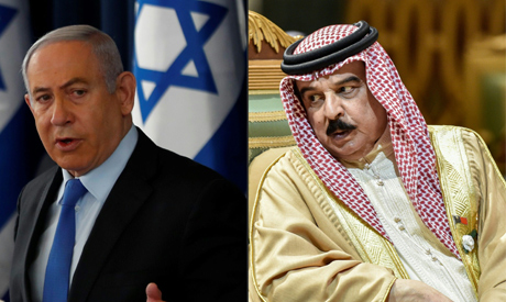 (COMBO) This combination of pictures created on September 11, 2020 shows (L) Israeli Prime Minister