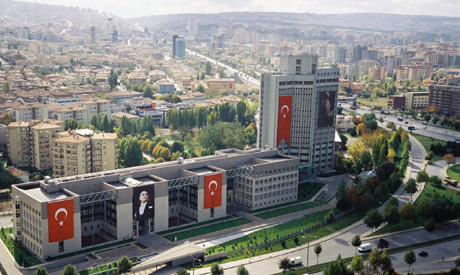 Turkish foreign ministry headquarter
