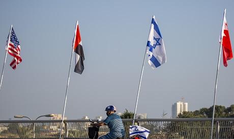 UAE Israel Abraham Accords.  AFP