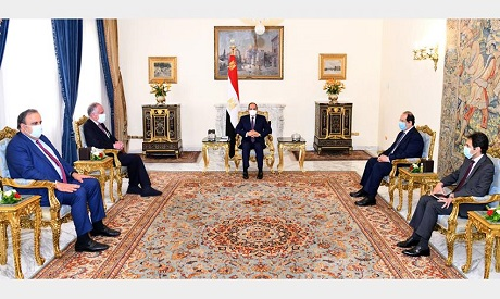 El-Sisi and Lauder