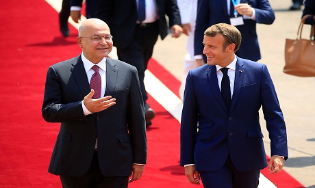 Macron in Iraq