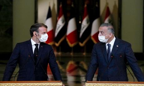 Macron & al-Kadhemi