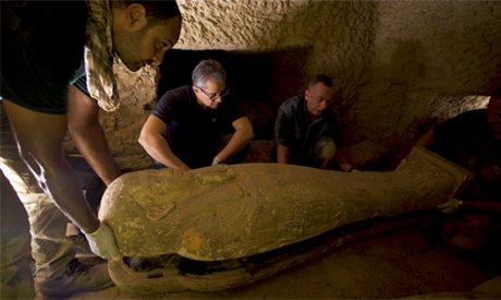 New treasures at Saqqara