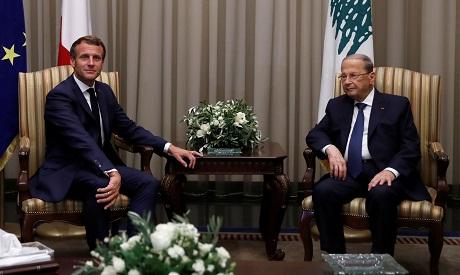 Aoun & Macron