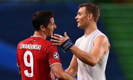 Robert Lewandowski and Manuel Neuer both starred as Bayern Munich won the Champions League