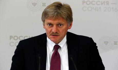Kremlin spokesman Dmitry Peskov . Reuters