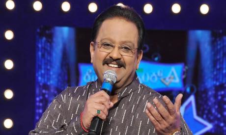 Indian singer S.P. Balasubrahmanyam