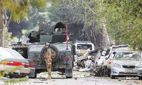 Afghan Attack AFP