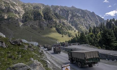 china/India borders
