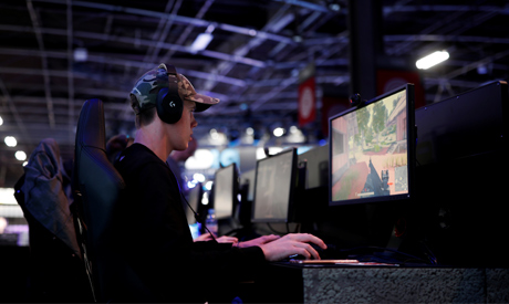 FILE PHOTO: A gamer plays PlayerUnknown