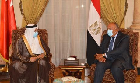 Egypt, Bahrain FMs
