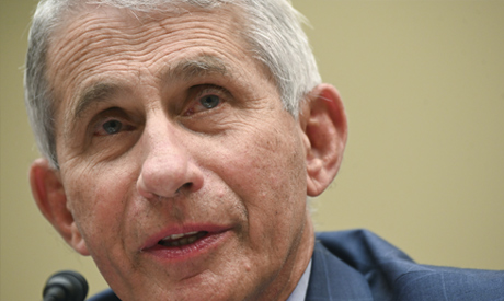 FILE - In this July, 31, 2020 file photo, Dr. Anthony Fauci, director of the National Institute for