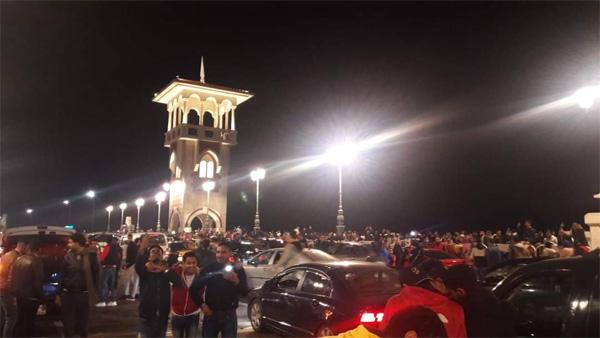 Celebrate New Year in Alexandria