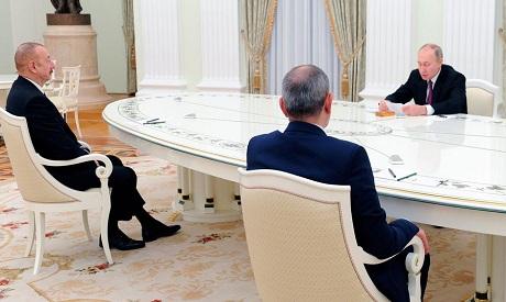 Armenia, Azerbaijan Russia peacetalks