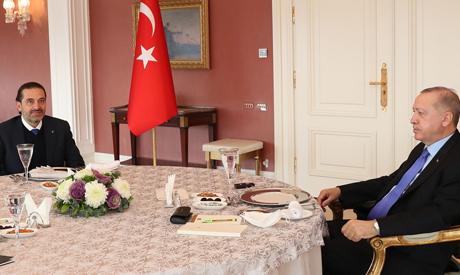 Erdogan and Al-Hariri