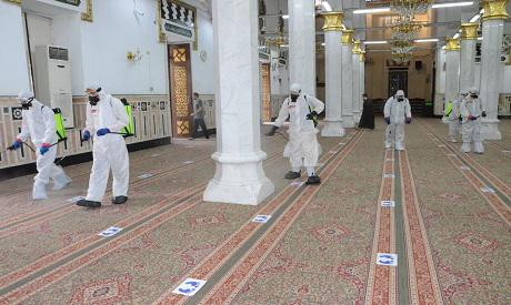 Mosque sanitizing