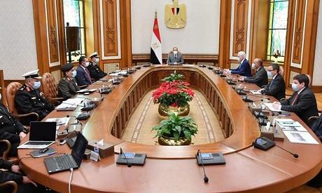 Egyptian president meets with Lürssen