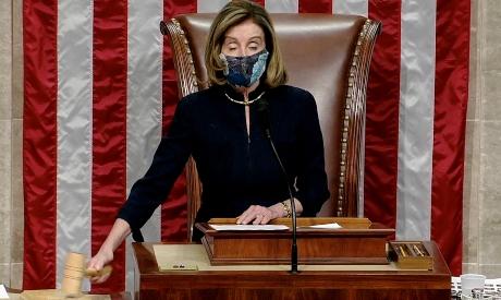 US Speaker of the House Nancy Pelosi