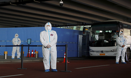 WHO team arrives in Wuhan to search for pandemic origins
